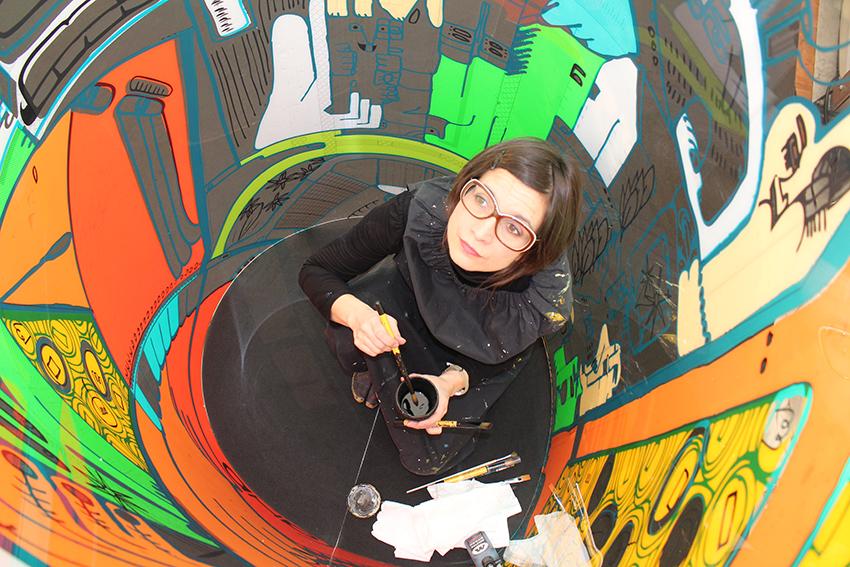 Street artiste aNa