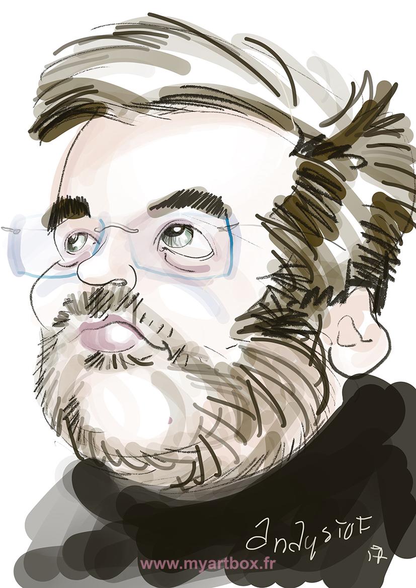 Caricature ipad