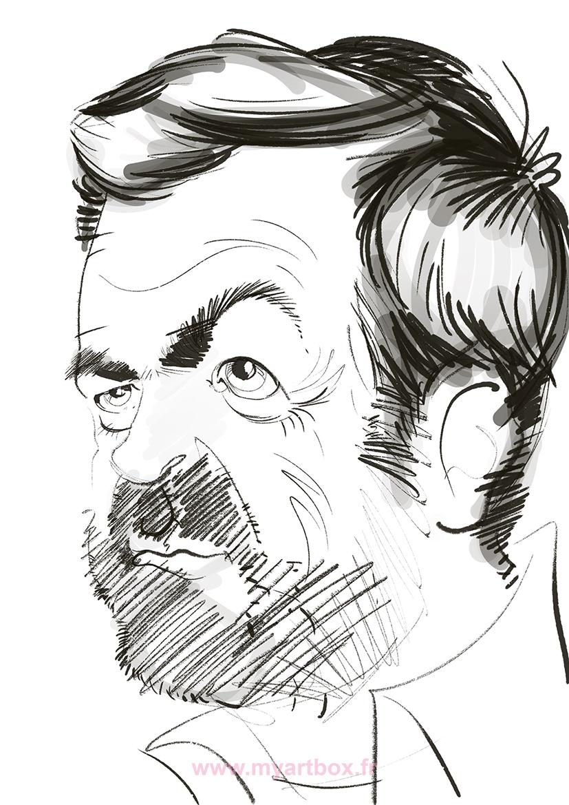 Caricature tablette lyon