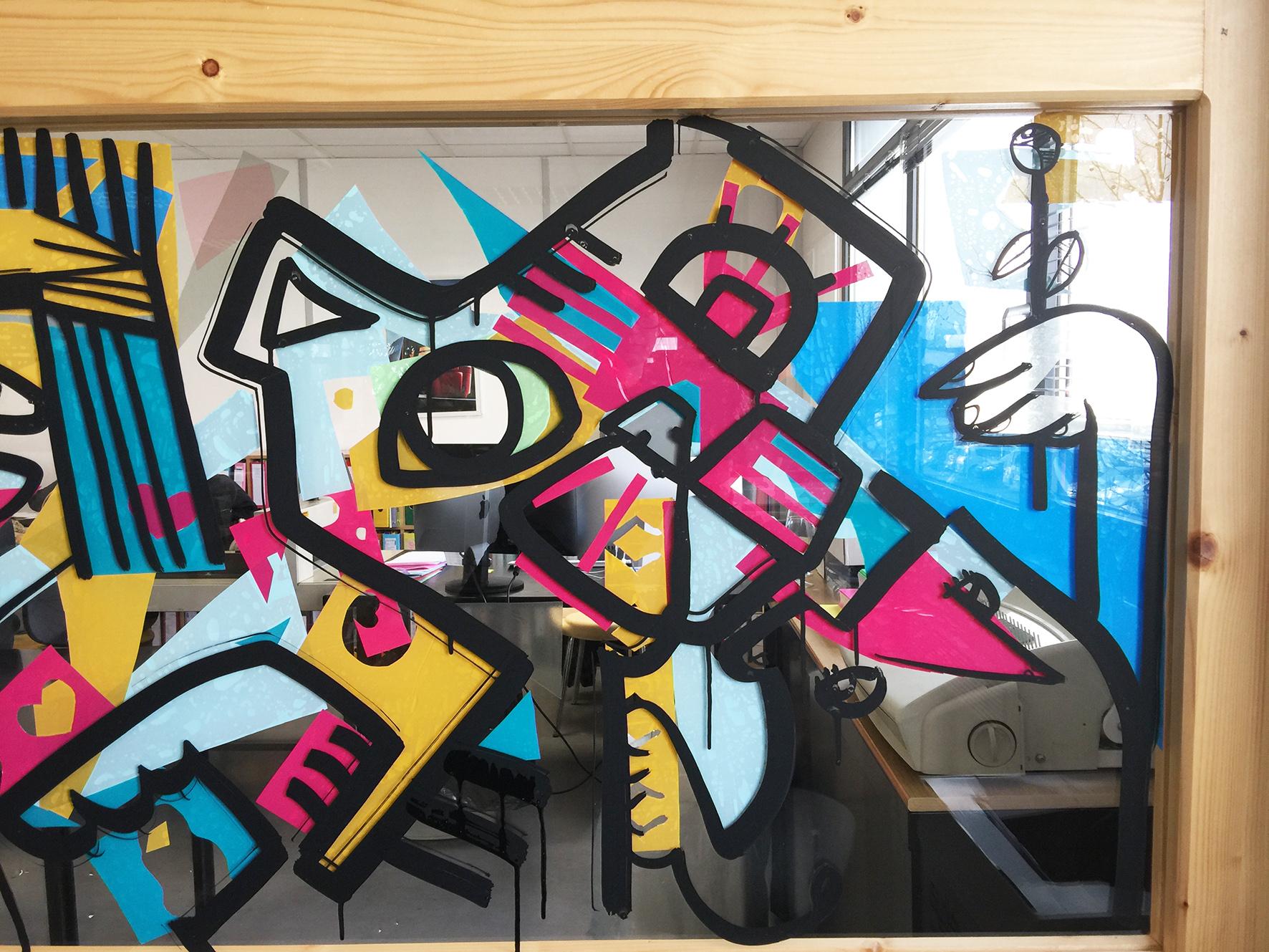 Fresque entreprise paris