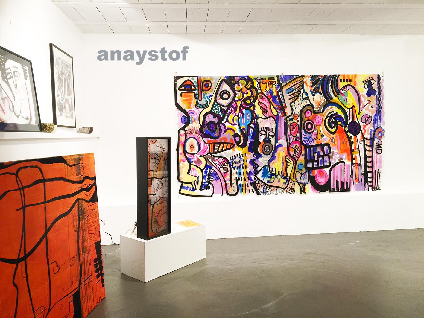 1700x2900mm Réalisé en Galerie d'art FRANCE