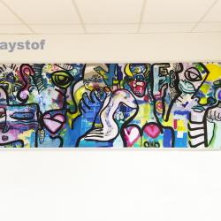 1000x2900mm Collection // Service Culturel institutionnel.