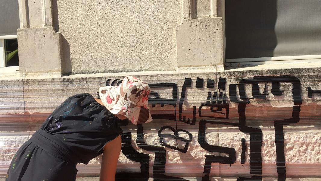 Street artiste lyon 3