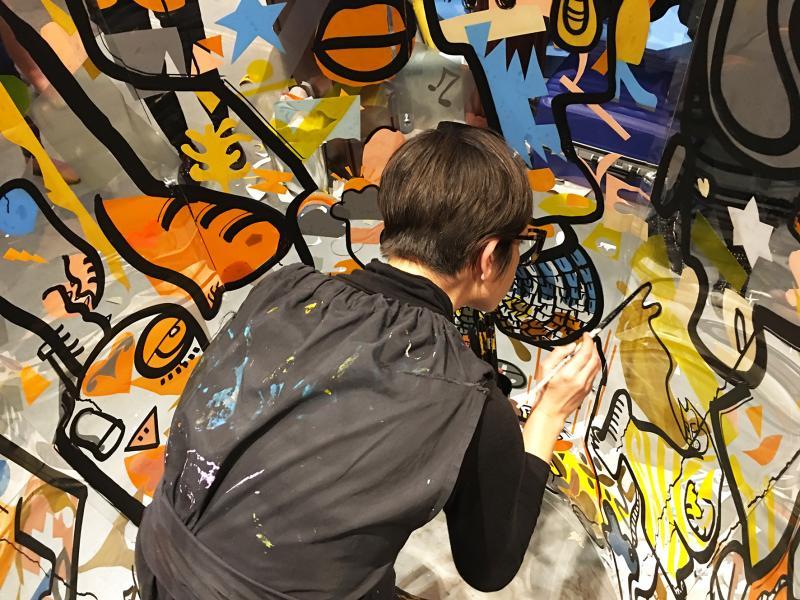 Anaystof fresque