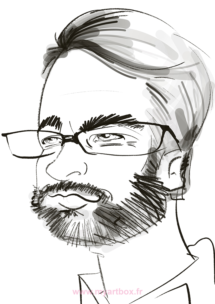 Caricature digitale