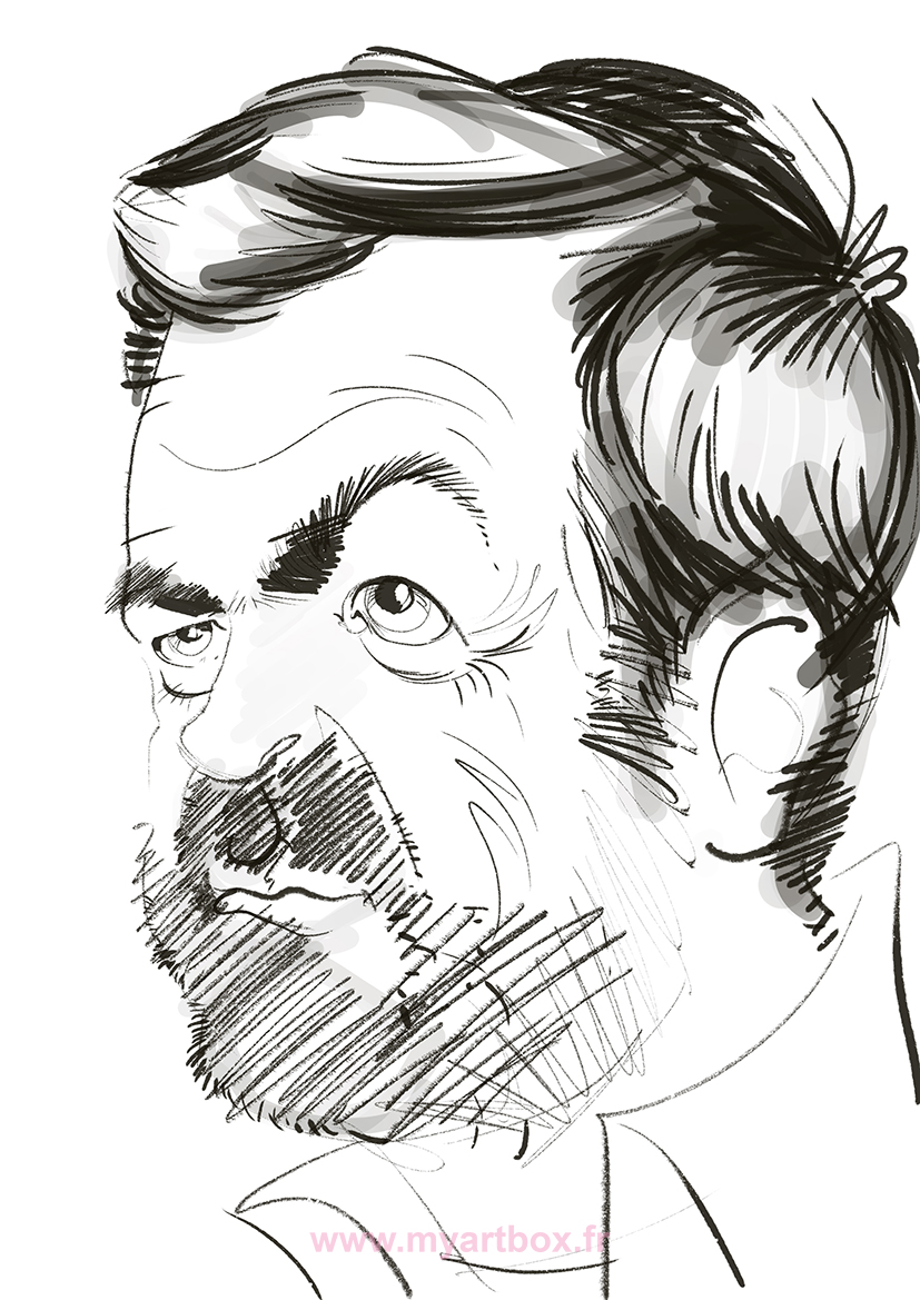 Caricature tablette lyon