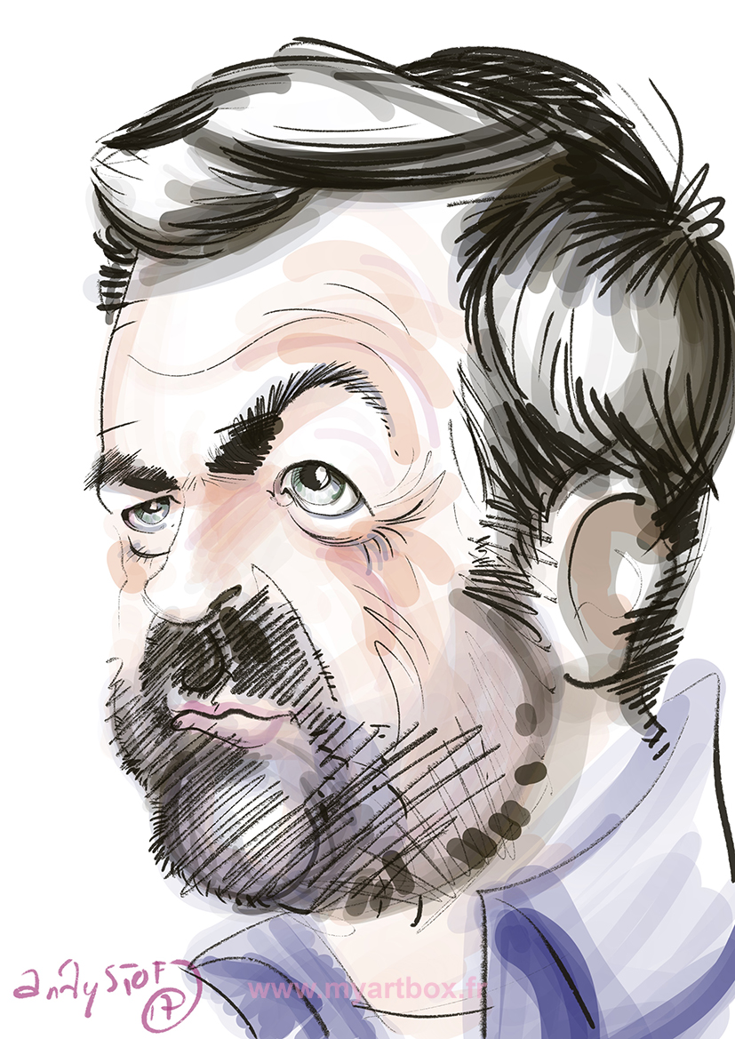 Caricaturiste digital
